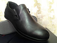 Мужские кожаные осенние туфли Bertoni