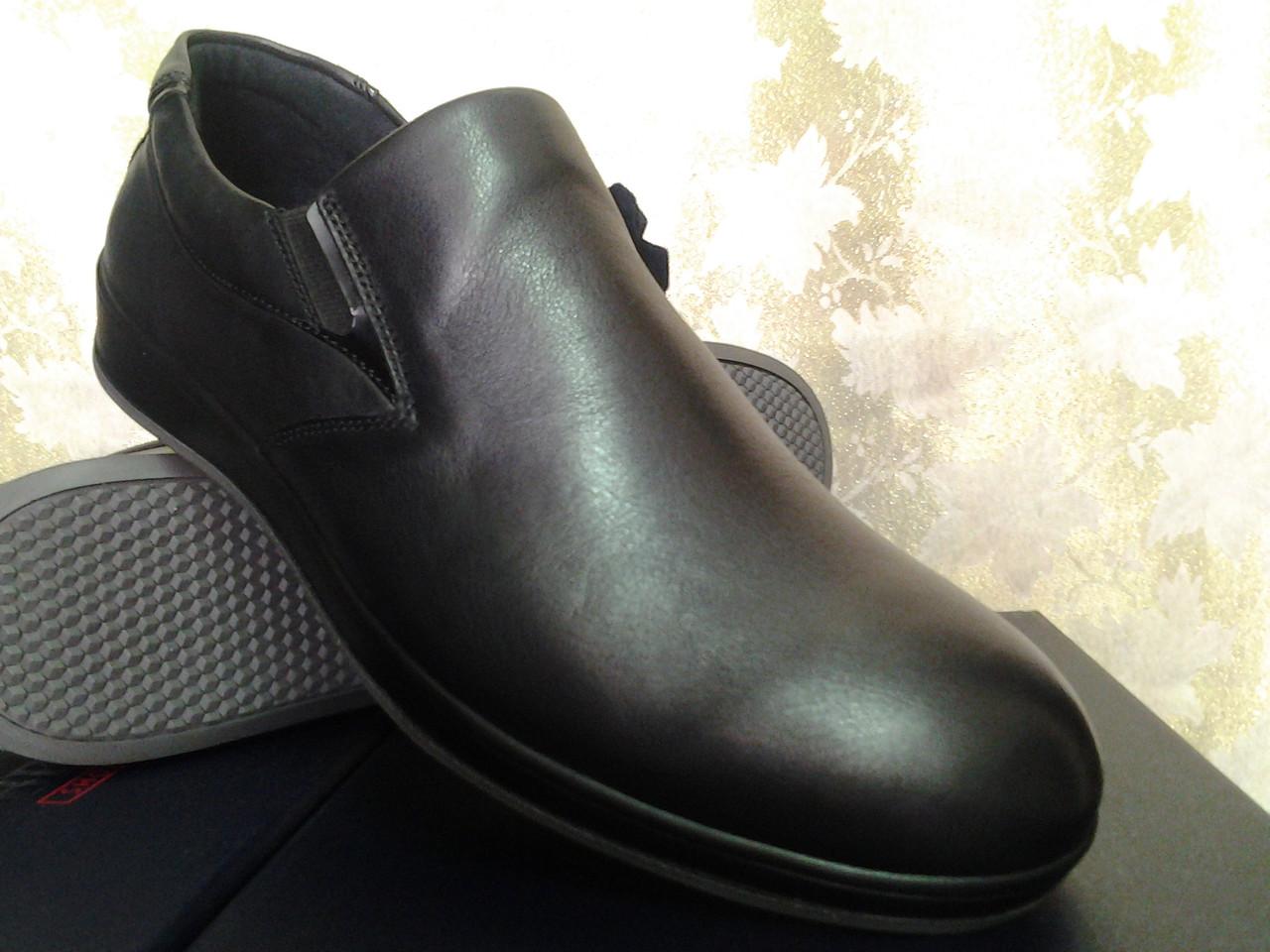 Мужские кожаные демисезонные полуботинки Bertoni - Интернет-магазин  Piligrim-shoes в Одессе 020dd3c7e1d01