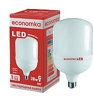 Светодиодная лампа высокомощная Economka LED, 20w 4200K