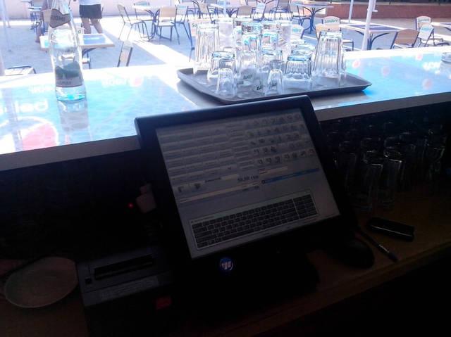 Рабочее место бармена