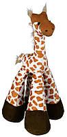 Игрушка Trixie Giraffe для собак плюшевая, жираф с пищалкой, 33 см