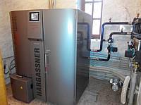 Установка пеллетного котла (до 50 кВт)