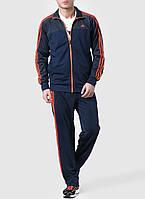 Костюм спортивный мужской adidas Essentials 3-Stripes X20587 (синий, эластик, для тренировок, логотип адидас)