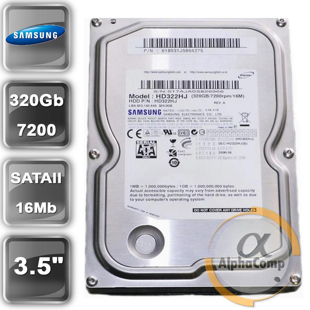 """Жорсткий диск 3.5"""" 320Gb Samsung HD322HJ (16Mb/7200/SATAII) БО"""