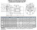 МОТОР-РЕДУКТОР PC 80 - NMRV 75/90/110/130 -0.37-0.75КВТ, фото 9