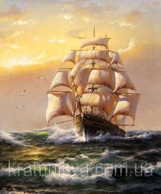 "Картина по номерам ""Солнечные паруса"", VS003, 40х50см."