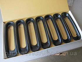 Jeep Wrangler 2007-2017 решетка радиатора черные вставки накладки на решетку радиатора Новые Оригинал