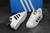 Женские кроссовки Adidas Superstar / материал: пресс-кожа / Вьетнам / размеры: 36-41 / классика