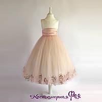 Детское нарядное платье (артикул 3/139)