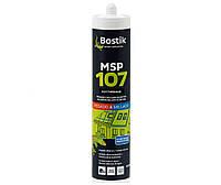 Клей-герметик MS-полимерный BOSTIK MSP 107 для кровли и водостоков черный, 290мл