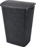 Пластиковая корзина для белья темно-коричневая на 55 л MY STYLE Curver 216581