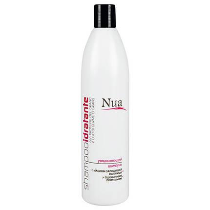 Nua — Увлажняющий шампунь с маслом зародышей пшеницы и пшеничным протеином, фото 2