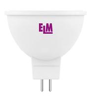 Светодиодная лампа ELM 3.5W MR16 PA10L GU5.3 4000K