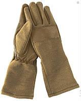Защитные перчатки BW Leder/Nomex, Coyote. Mil-tec, Германия.