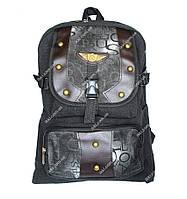 Вместительный тканевый рюкзак для мужчин (Ф-15ч)