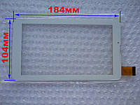Touch screen (Сенсор) Mystery MID-703G/ MID-713G/ MID-753G (184*104) Белый (TEST OK), фото 1