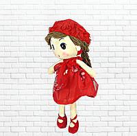 Детская игрушка кукла Ангелина,красная