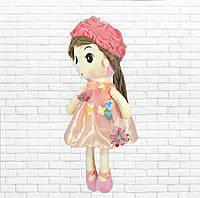 Детская игрушка кукла Ангелина,розовая