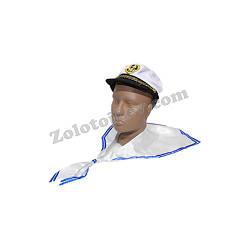 Шапка и воротник моряка, комплект