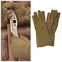 Летные перчатки USA Leder/Nomex, Coyote. Mil-tec, Германия., фото 1