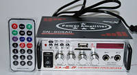 Стерео усилитель UKC SN-808AC. Интегральный усилитель со встроенным медиаплеером. Хорошее качество Код: КГ1627