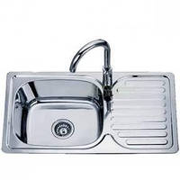 Мойка кухонная из нержавеющей стали Sofia D 7642 P матовая