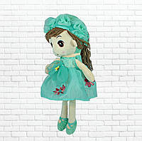 Детская игрушка кукла Ангелина,бирюзовая