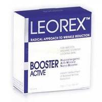 Гипоаллергенная нано-маска для экспресс-разглаживания морщин для нормальной кожи Leorex Booster Active (HWNB) 10 саше