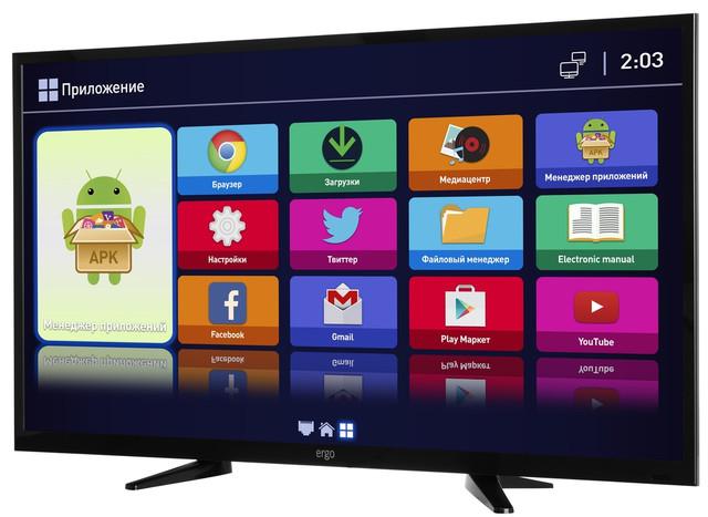 Телевизор 32 Ergo LE32CT2500AK