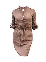 Льняное Платье - Туника  0111711