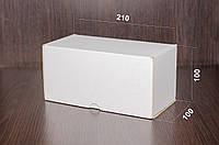 Картонная коробка, самосборная, белая 21х10х10 см (от 50шт)