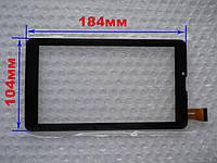 Touch screen (Сенсор) Pixus play three v4.0 (184*104) Чёрный (TEST OK), фото 1