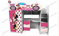 Кровать комната Минни маус для девочки