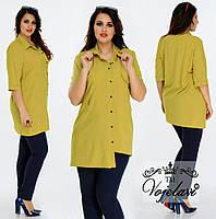 Женская Стильная Рубашка (KL037/Olive)
