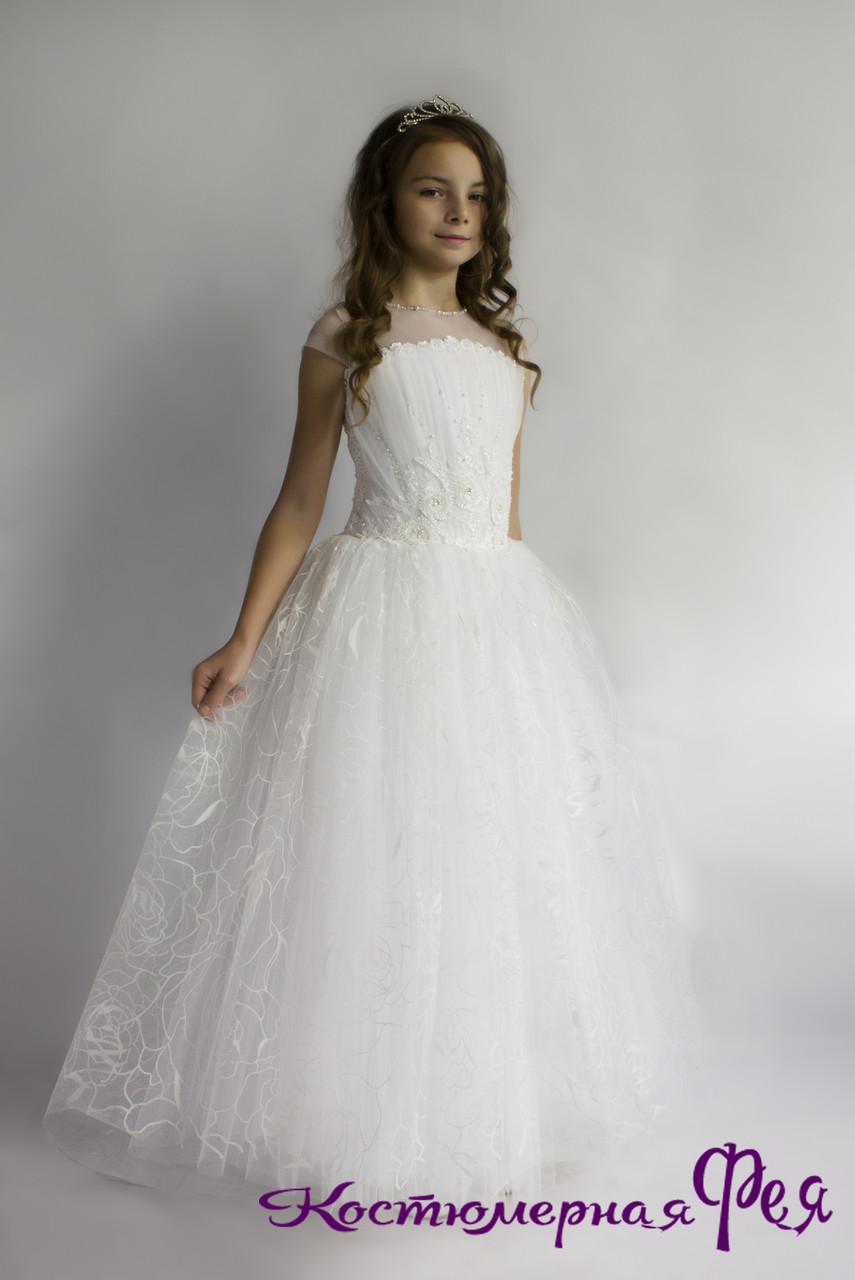 Бальное платье для девочек (артикул 4/73)