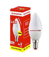 Умная светодиодная лампа Economka LED 6W SMART Е14-4200K