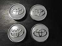 Комплект колпачков в титановые диски V1 Тойота Кемри 2002-2007 (4шт)