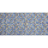 "Листовая панель ПВХ Регул мозаика ""Акцент синий"" 0,4мм 955*488мм"