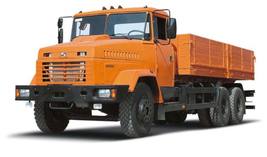 Бортовой автомобиль КрАЗ 65053