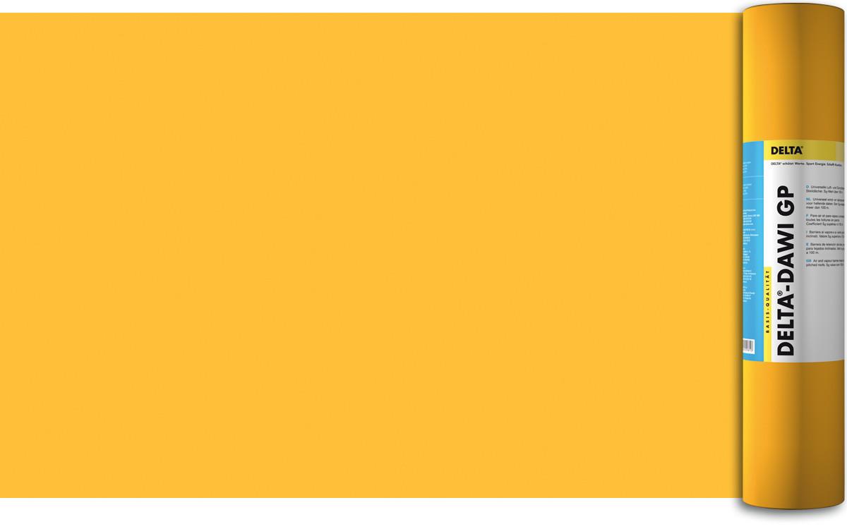 Классическая однослойная пароизоляционная плёнка  DORKEN DELTA®-DAWI GP 180 Г/М.КВ. 2М Х 50М (1346)