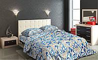Евро комплект постельного белья Бязь Gold Lux