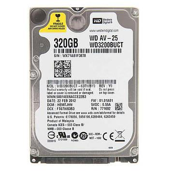 "Винчестер 320GB Western Digital WD3200BUCT SATA III, 5400rpm,16MB, 2,5"""