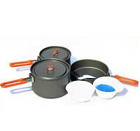 Набор посуды из анодированного алюминия Fire-Maple Feast3  на 2-3 человека