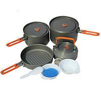 Набор посуды из анодированного алюминия Fire-Maple Feast4  на 4-5 человека