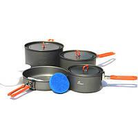 Набор посуды из анодированного алюминия Fire-Maple Feast5  на 4-5 человека