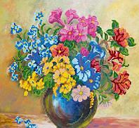 Схема  «Луговые цветы»