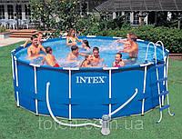 Каркасный бассейн Intex 28236 (54946) Metal Frame Pool (457х122)