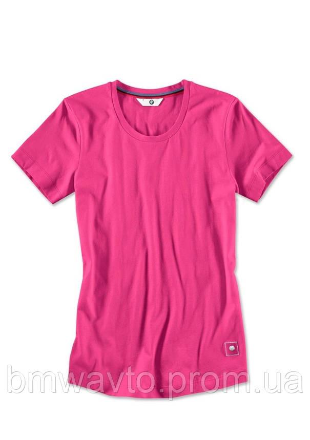 Женская футболка BMW T-Shirt, Ladies, Zyclam Red, фото 2