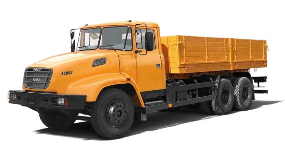 Бортовой автомобиль КрАЗ 65053 IK