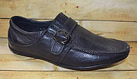Кожаные школьные туфли для мальчиков размеры 32-36